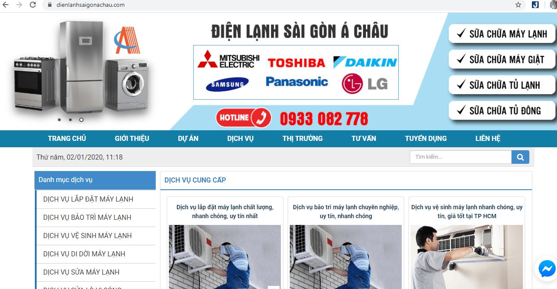 sửa chữa máy giặt Sài Gòn