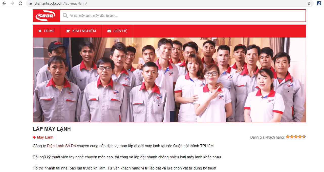 dịch vụ lắp đặt điều hòa Sài Gòn