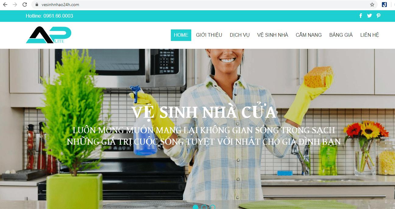 Vệ Sinh Nhà Trọn Gói Sài Gòn