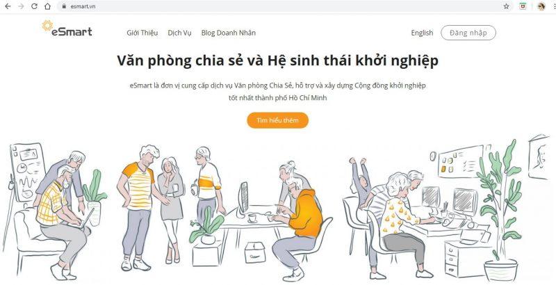 dịch vụ co-working văn phòng ảo Sài Gòn