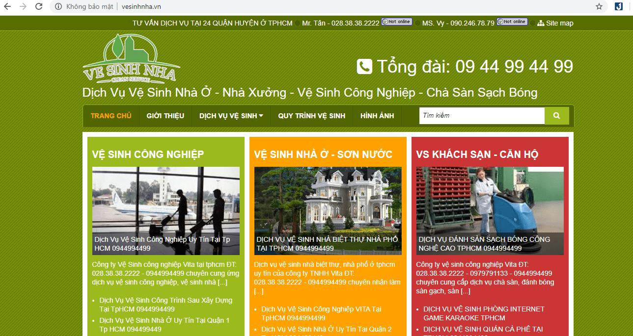 Dọn Dẹp Nhà Sài Gòn