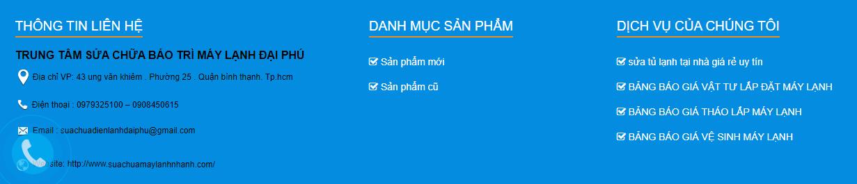 Dịch Vụ Sửa Điều Hòa Uy Tín Ở Sài Gòn
