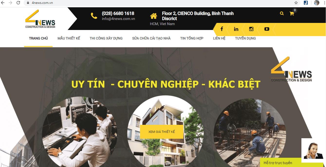 thiết kế nhà Sài Gòn