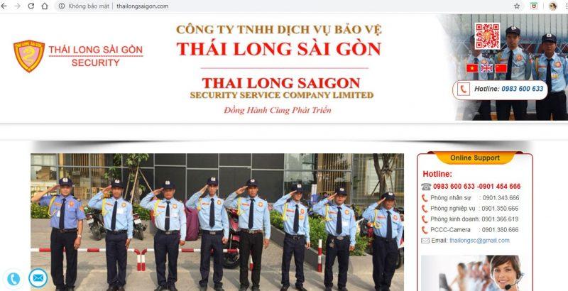 Dịch Vụ Bảo Vệ Số 1 Sài Gòn