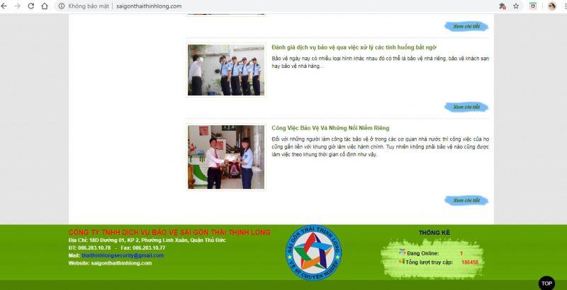 Dịch Vụ Bảo Vệ Cá Nhân HCM