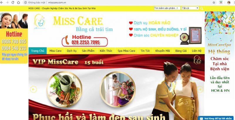dịch vụ chăm sóc mẹ và bé Sài Gòn