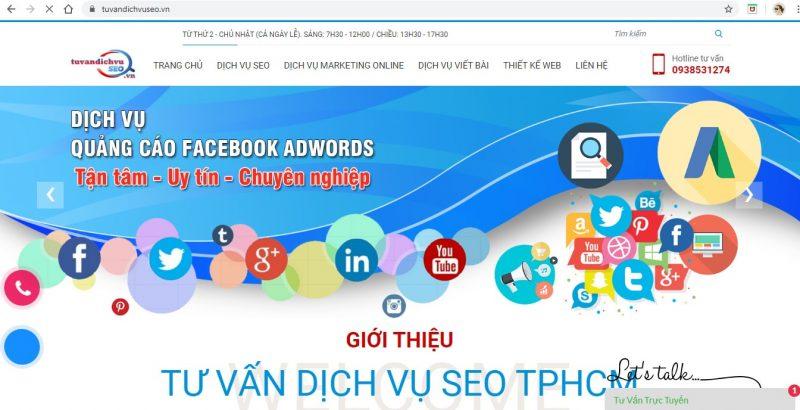 dịch vụ quảng cáo facebook Tp. Sài Gòn