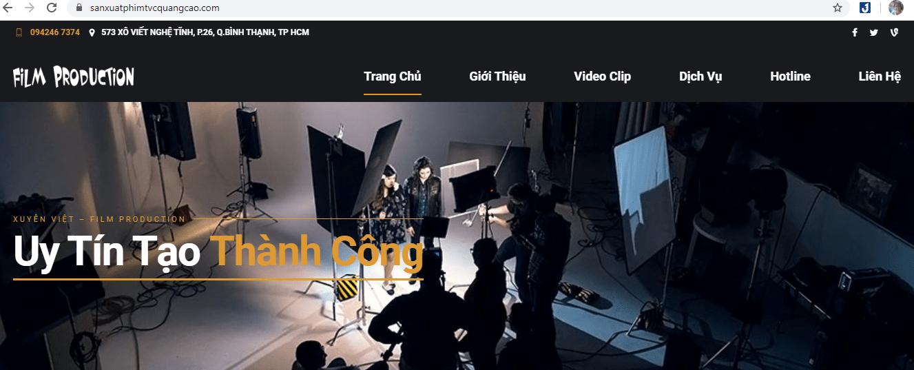 dịch vụ quay phim Sài Gòn