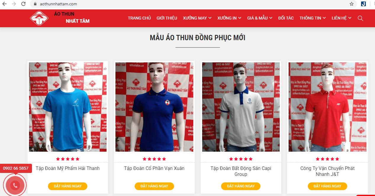 thiết kế đồng phục Sài Gòn