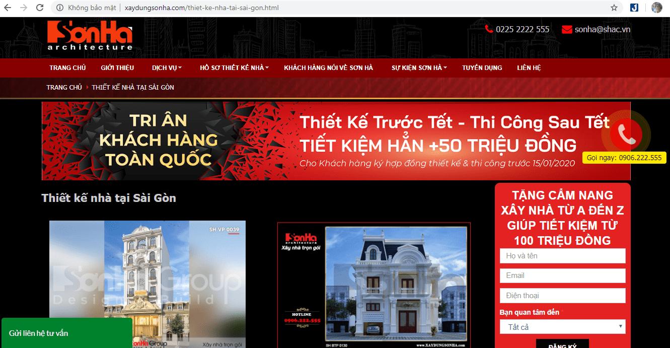 Công Ty Thiết Kế Nhà Sài Gòn
