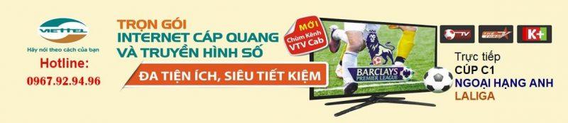 lắp mạng Viettel Ở TP Hồ Chí Minh