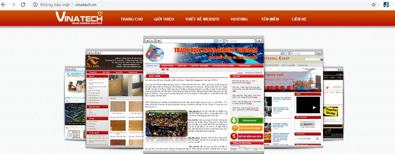 công ty thiết kế website Sài Gòn