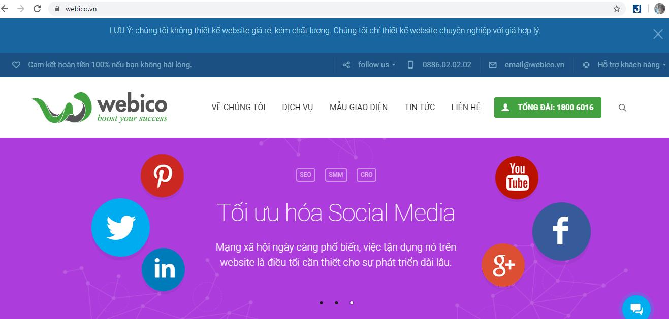 Thiết Kế Website Chuẩn Seo TP HCM