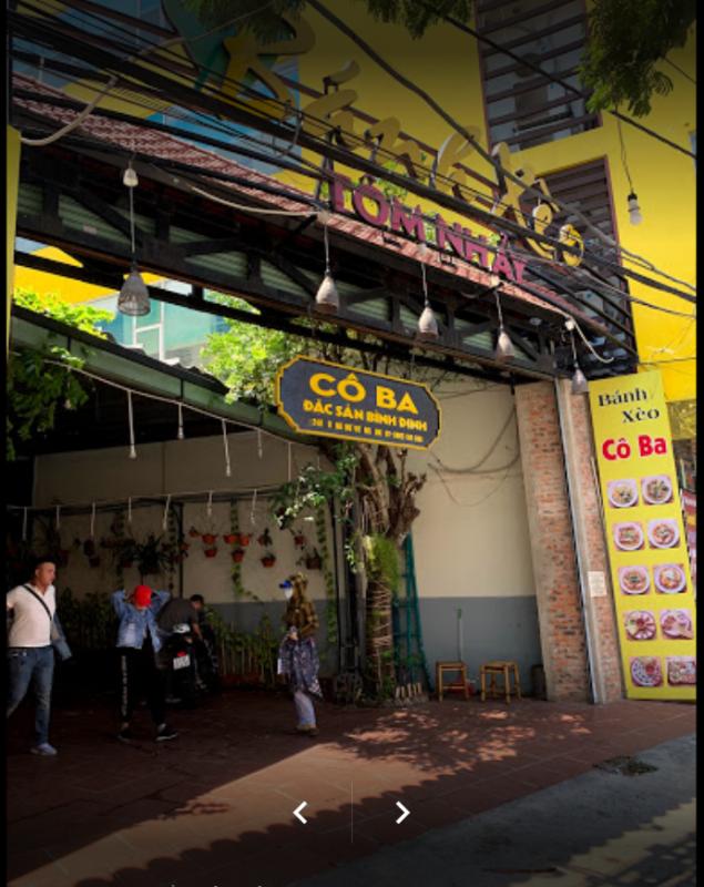 quán bánh xèo Đà Nẵng