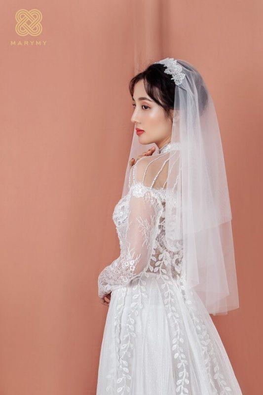 áo dài cưới Sài Gòn