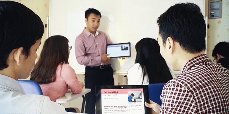 dạy tiếng Anh Sài Gòn