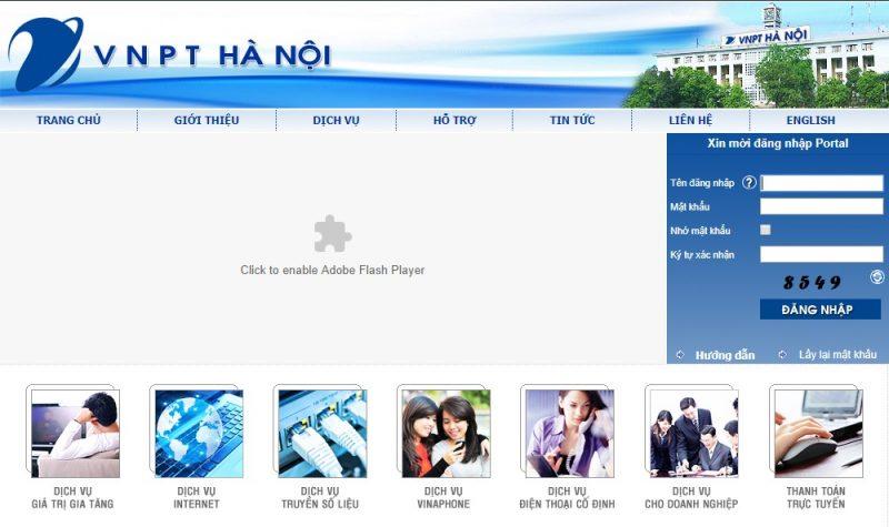 dịch vụ lắp mạng VNPT Hà Nội