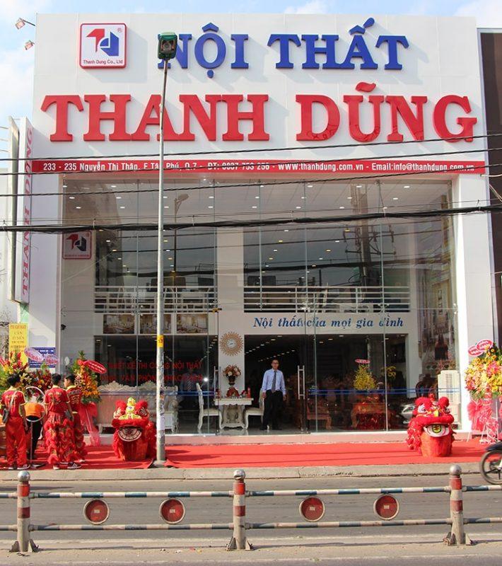 cửa hàng nội thất Sài Gòn.
