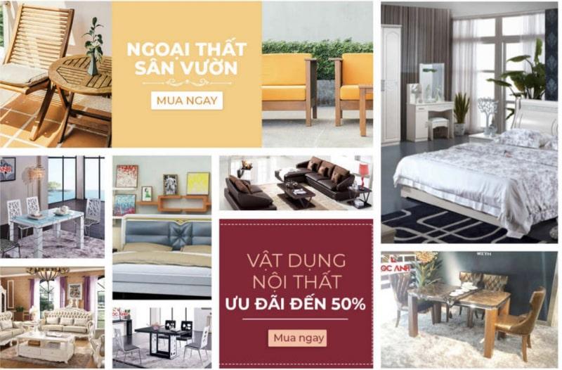 cửa hàng nội thất Sài Gòn