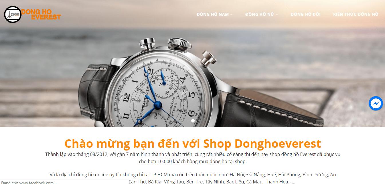 cửa hàng đồng hồ ở sài gòn