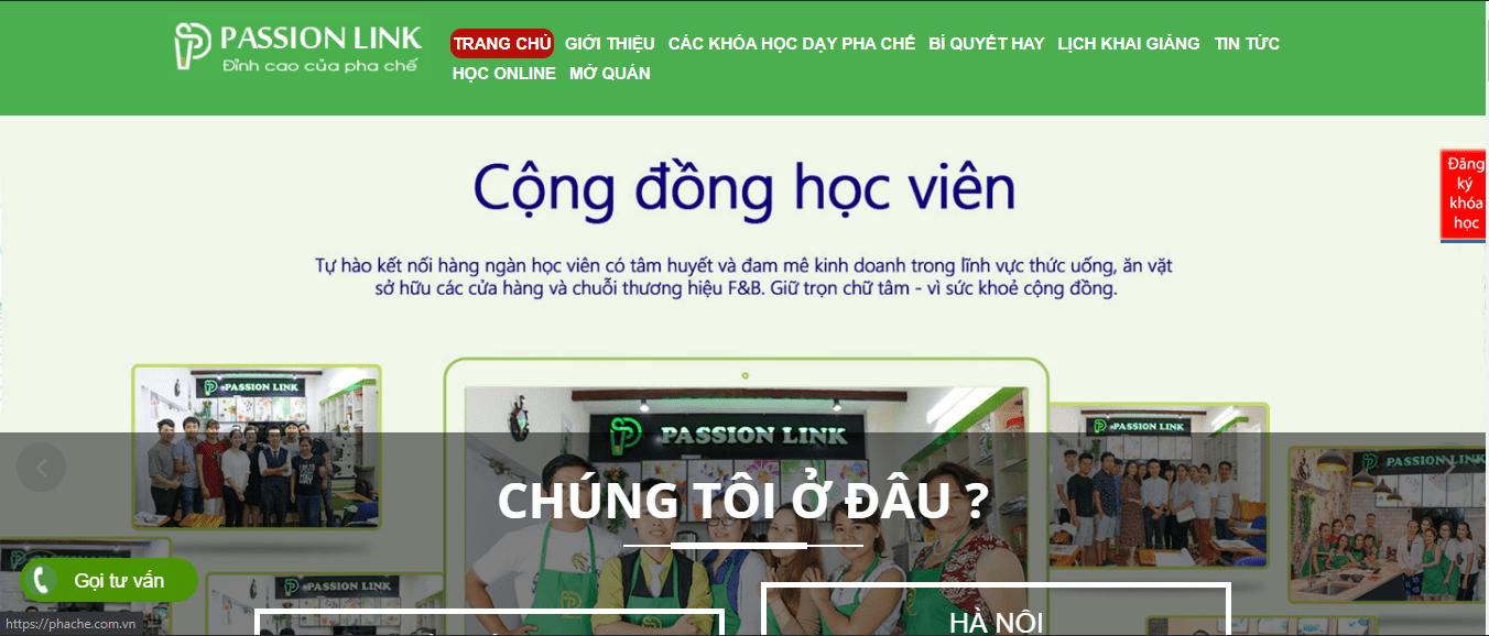 dạy pha chế tại Sài Gòn