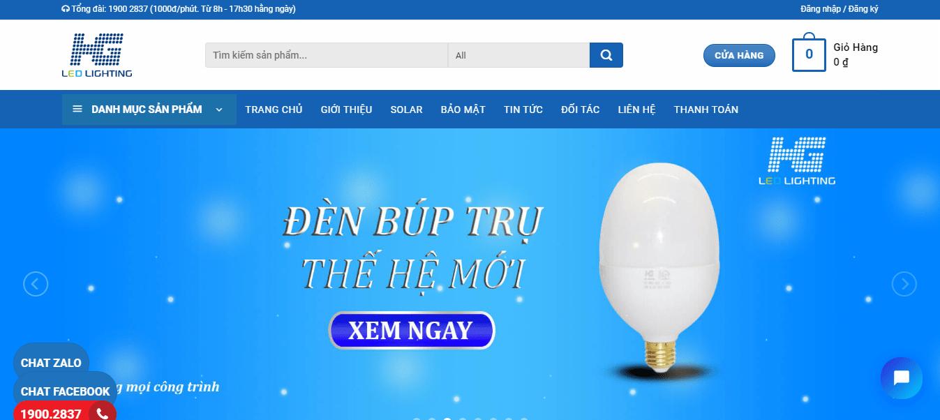đèn led hồ chí minh