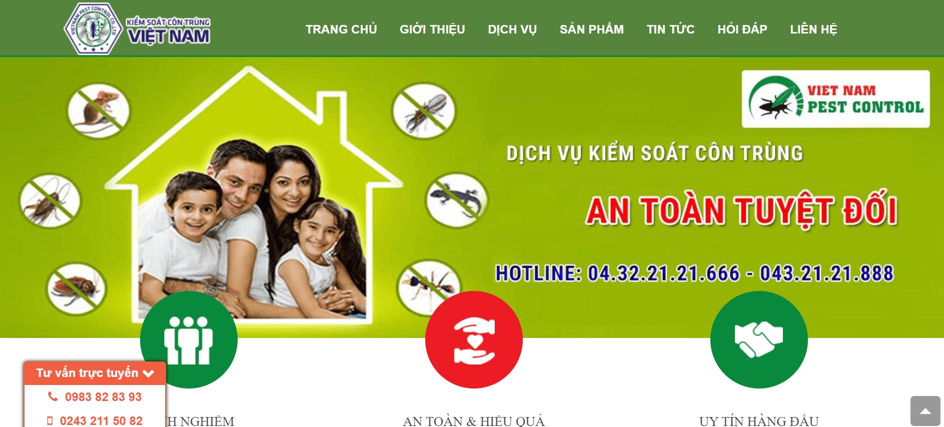 Dịch vụ diệt chuột Hà Nội