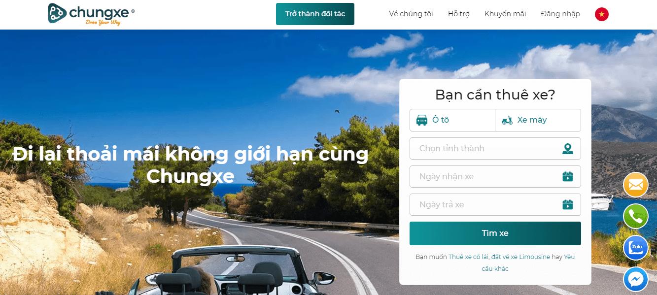 dịch vụ thuê xe máy ở Hà Nội