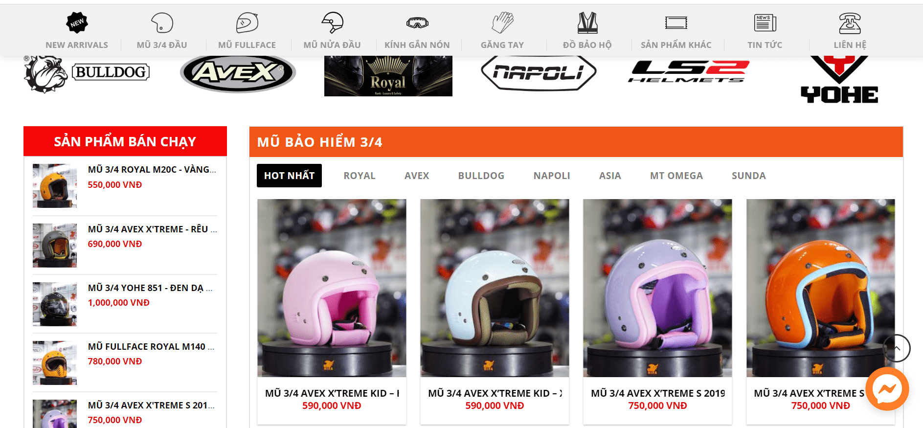 cửa hàng bán mũ phượt tại tp hcm