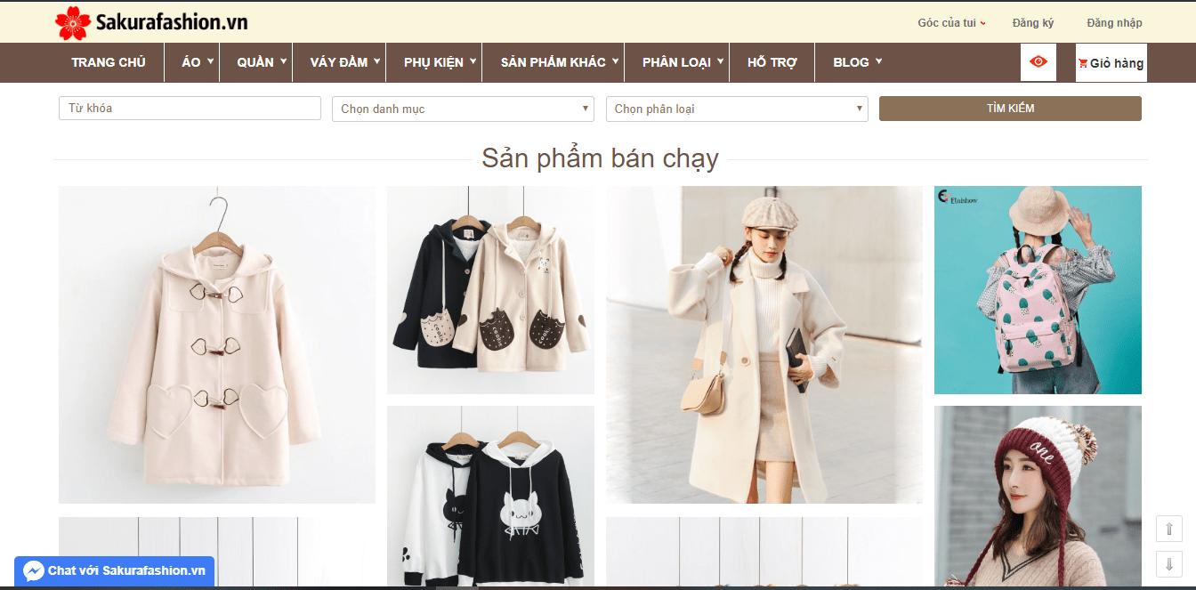 Sakurafashion –cửa hàngquần áoNữ Chất TạiTP. HCM