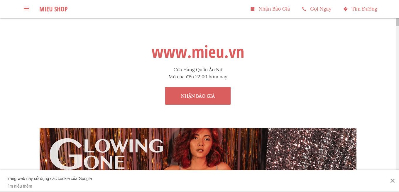 MIEU –shopquần áoNữTP. HCMUy Tín
