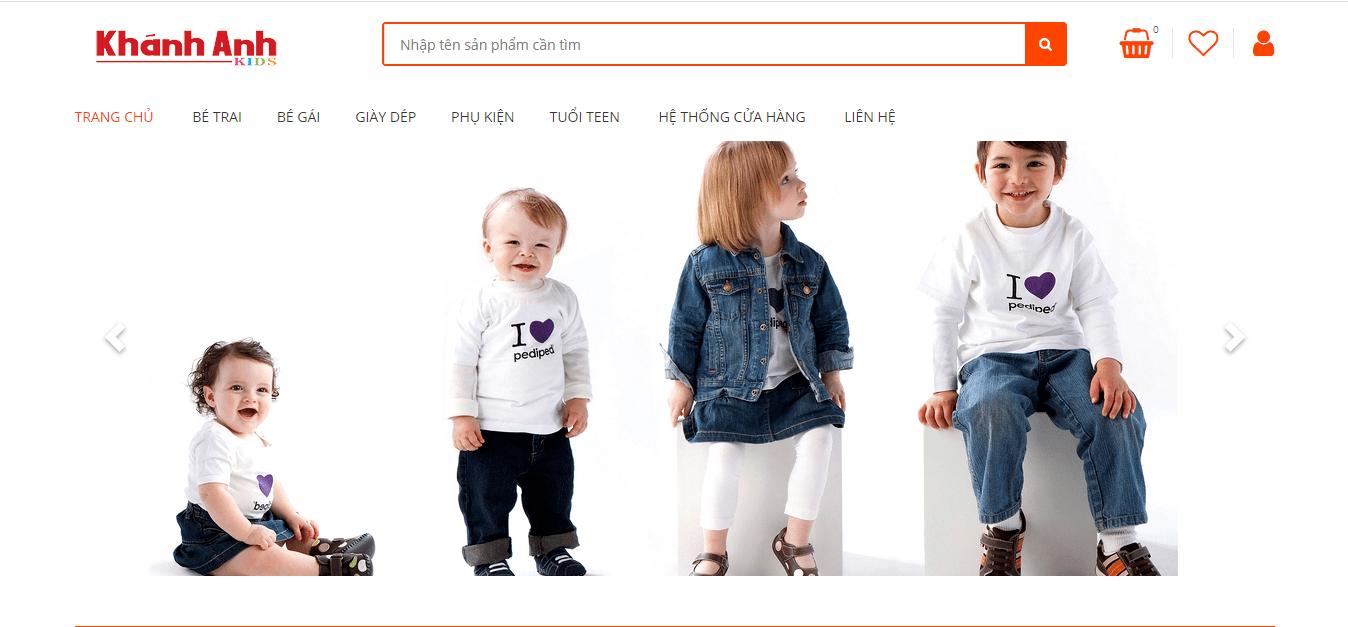 cửa hàng thời trang em bé hồ chí minh