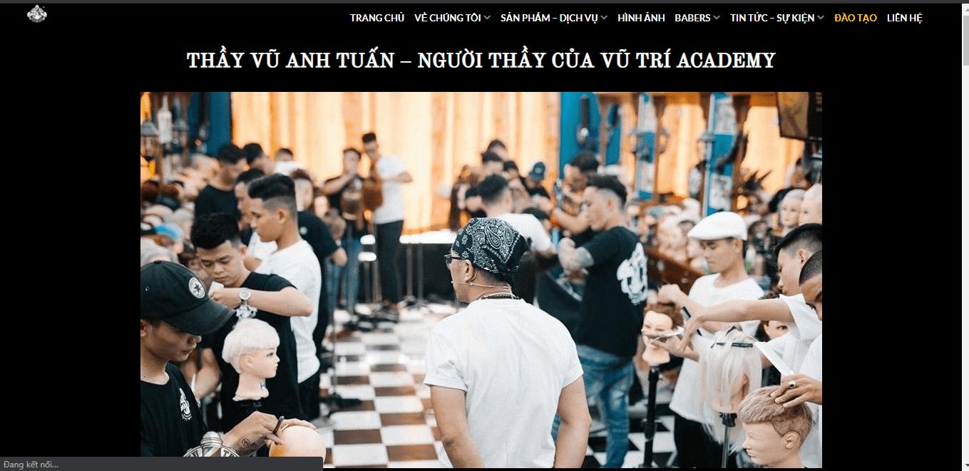 tiệm tóc nam Sài Gòn