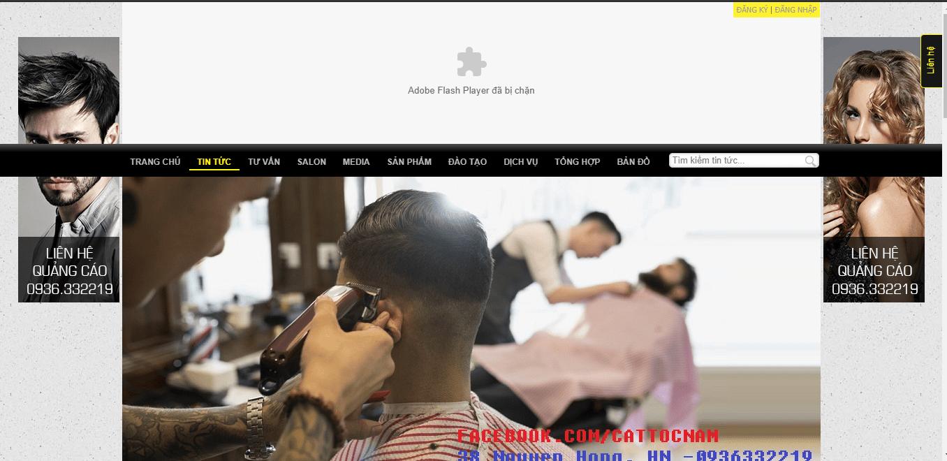 cắt tóc đẹp tại SG