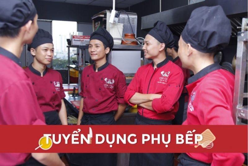 tuyển phụ bếp Đà Nẵng