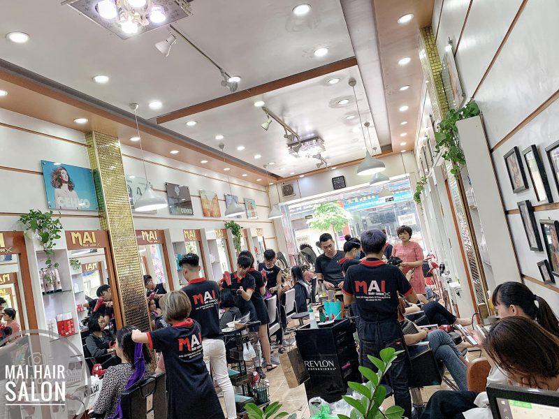Tiệm tóc Mai Hải Phòng