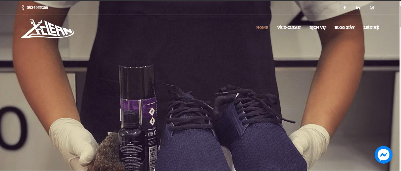 dịch vụ vệ sinh giày Hà Nội