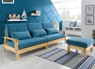 sofa gỗ hải phòng