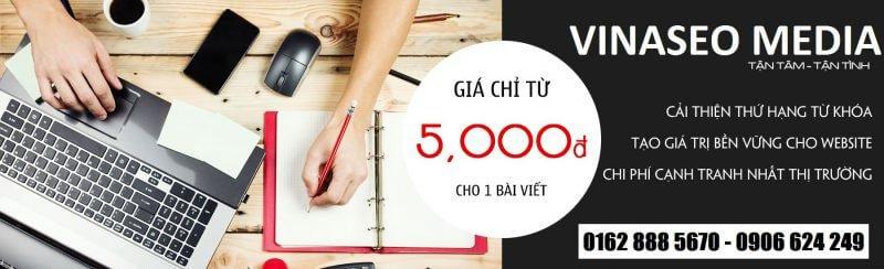 Dịch Vụ Viết Bài Chuẩn Seo Sài Gòn