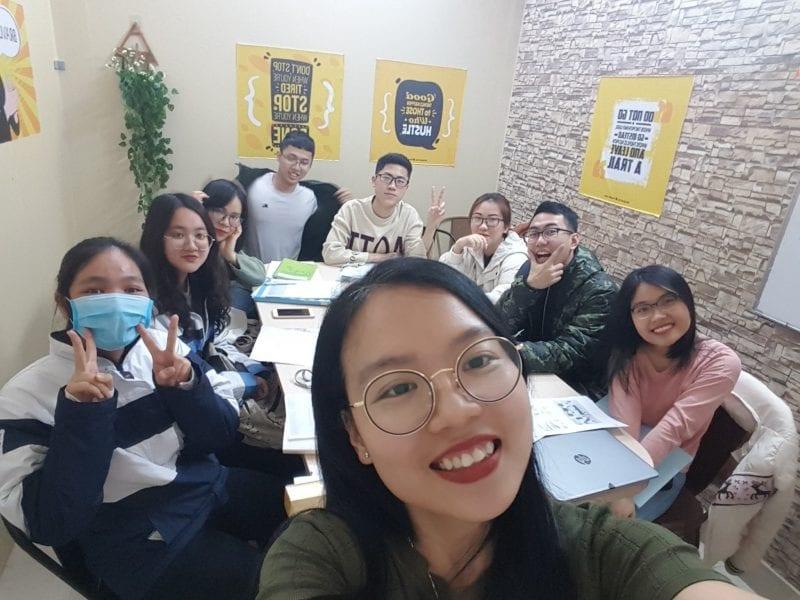 luyện thi IELTS ms Huyên Hải Phòng