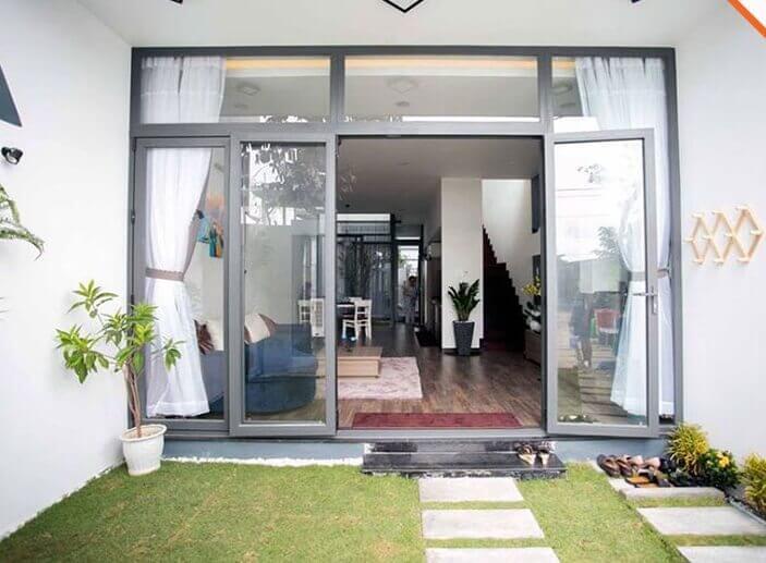 Cửa nhôm Xingfa 4 cánh mở quay cao cấp Đà Nẵng