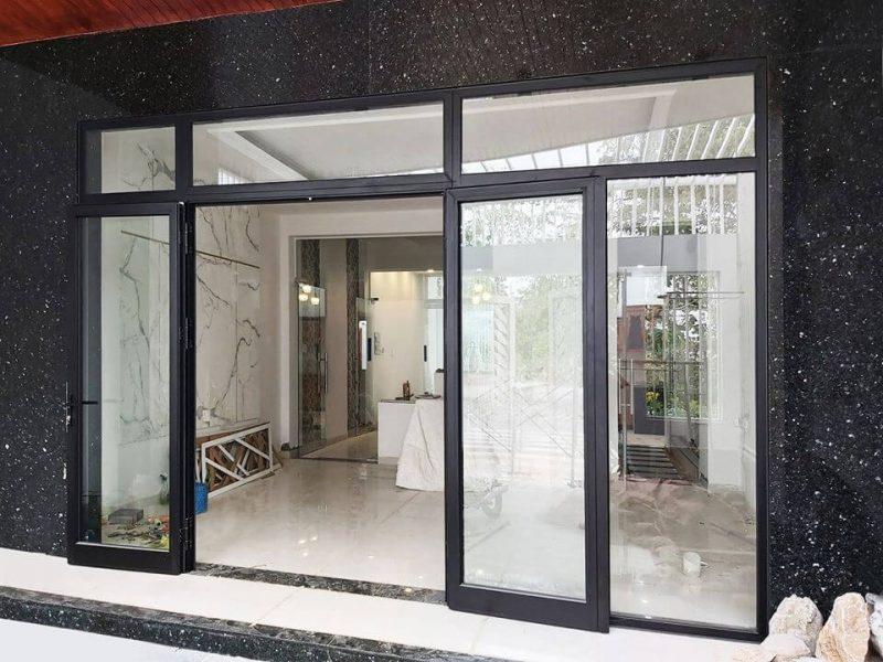 Cửa nhôm đẹp cho phòng khách tại Hà Nội