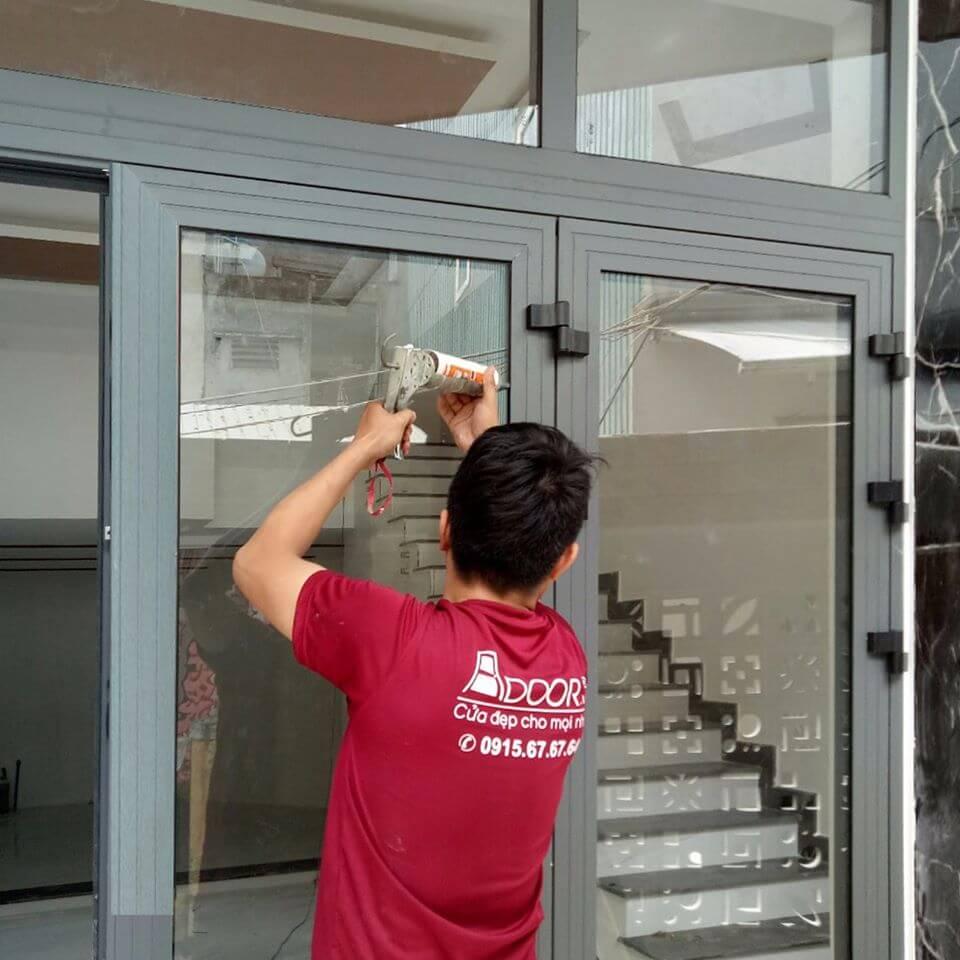 Bảo dưỡng và thi công lắp đặt nhanh chóng tại Adoor