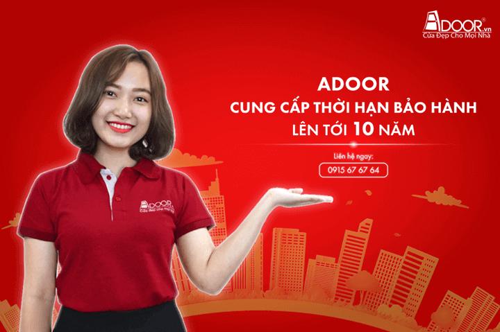 Dịch vụ hậu mãi khi mua cửa nhôm Xingfa HCM Adoor