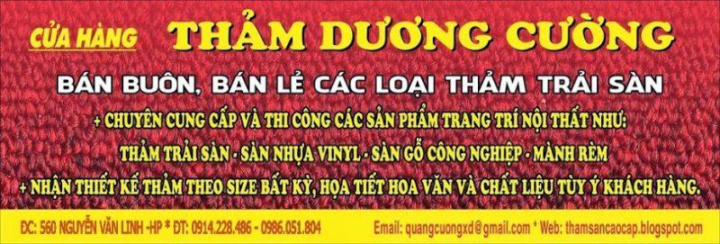 Thảm Dương Cường Hải Phòng