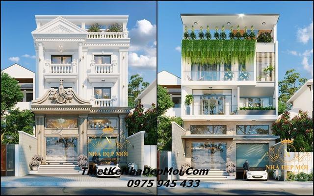 Thiết kế nhà đẹp mới - Xây nhà trọn gói HCM
