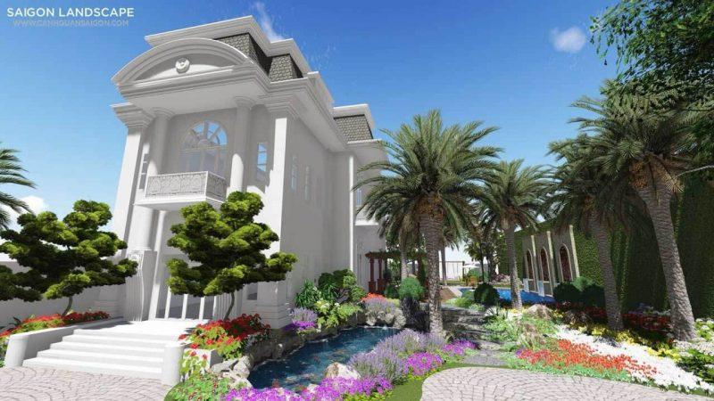thiết kế cảnh quan chung cư
