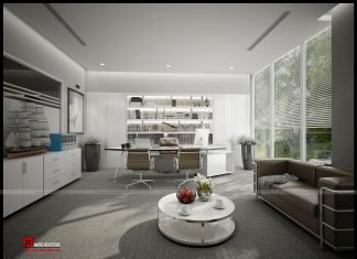 công ty thiết kế nội thất văn phòng tại hà nội