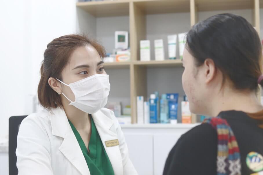Spa điều trị mụn ở tphcm