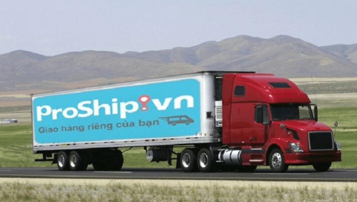 proship xe tải chở hàng